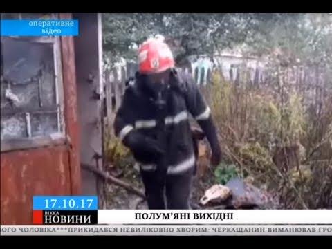 ТРК ВіККА: Необережне куріння та проблемна піч: на Черкащині вихідними двічі палали будинки