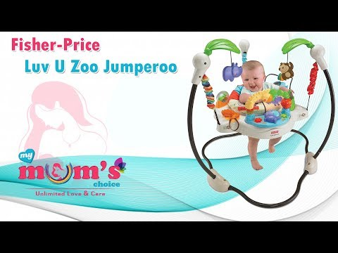Fisher-Price Luv U Zoo Jumperoo |  Fisher Price Baby gear products | my mum's choice