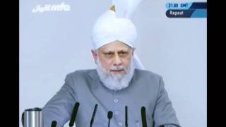 English Friday Sermon 14th October 2011 - Islam Ahmadiyya