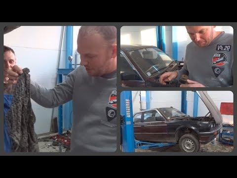 Трусы под фарой и ветка в термостате. Знакомимся с нашей BMW E30