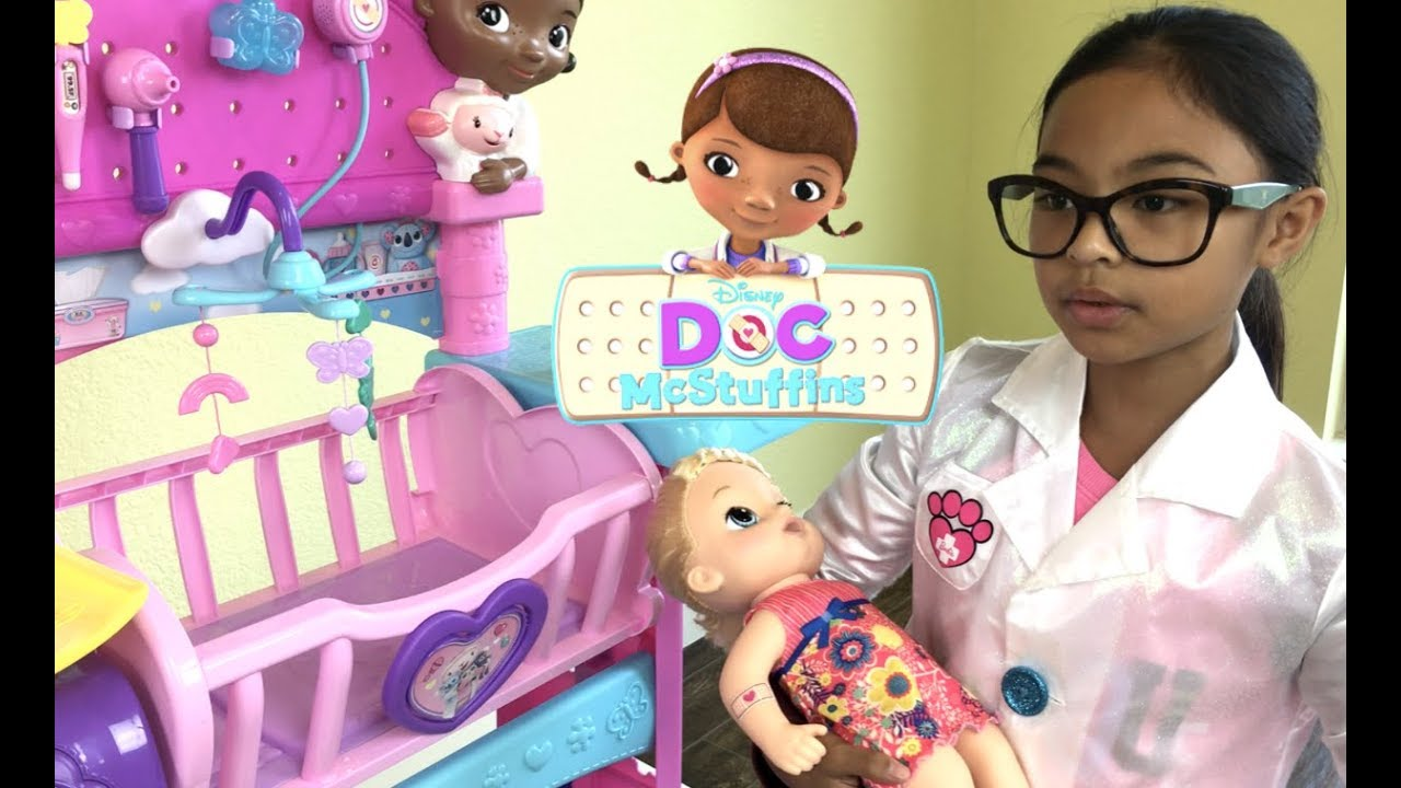 Disney Doc Mcstuffins Baby All In One Nursery Unboxing