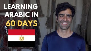 Learning Arabic in Egypt in 60 days - Day 60 video Dana