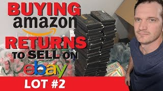 Buying Amazon Returns to Sell on eBay, Unboxing Lot #2