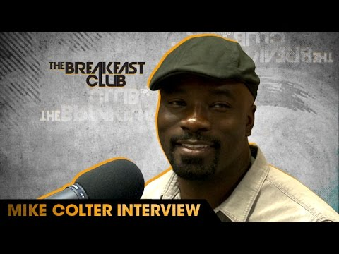 Mike Colter  With The Breakfast Club 93016