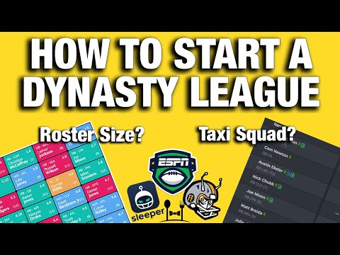 Starting A Dynasty Fantasy Football League? EVERYTHING You Need To Know
