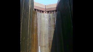 Запорожский шлюз Самый глубокий шлюз в мире  ч  2 (The deepest gateway in the world)