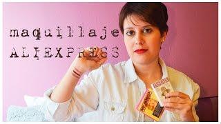 maquillaje ALIEXPRESS | HAUL + REVIEW