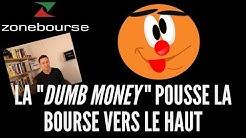 La 'dumb money' pousse la bourse vers le haut