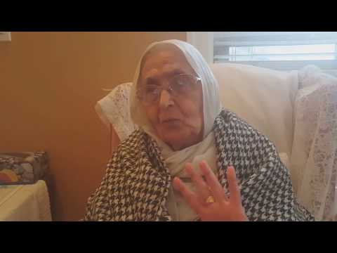 Punjab Partition 1947  Bibi Surjit Kaur Sandhu born in 1930 (Mianwali to Ambala)