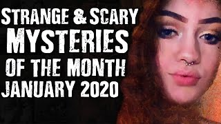 Gambar cover Strange & Scary Mysteries Of The Month January 2020