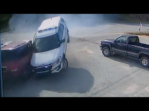 CAUGHT ON CAMERA: Caldwell County Deputy Dismissed After Losing Control Of Car