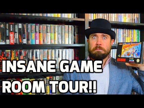 Insane Game Room Tour! - Over A Dozen Games! - Sega, Atari, Nintendo Collecting - THGM