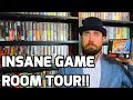 Insane Game Room Tour! - Over A Dozen Games! - Sega, Atari, Nintendo Collecting - THGM