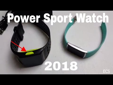 NEW UNRELEASED 2018 Power Sports Watch Pro Fitness Tracker for Android and iOS | 2018 Debut