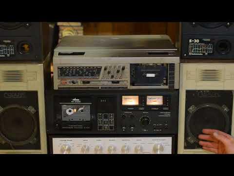 """Колонки """"Сириус""""  Vs колонки """"Радиотехника С-30"""". Усилитель """"Барк"""", кассетная дека """"Вильма-104"""""""
