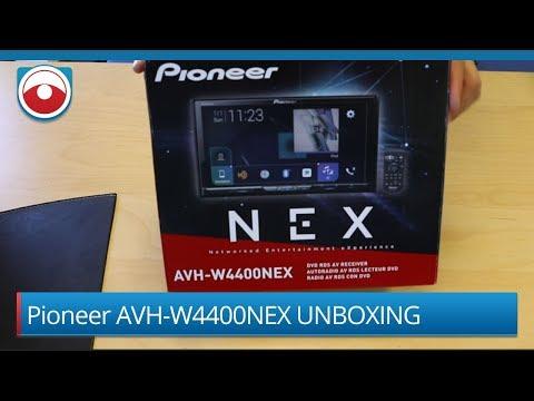 Pioneer AVH-W4400NEX Unboxing Wireless Carplay android auto