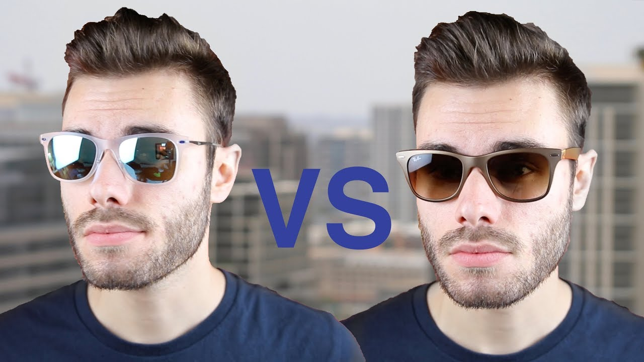 3d5f6e3930f Ray-Ban Wayfarer Light Ray vs Wayfarer Liteforce. Shade Review