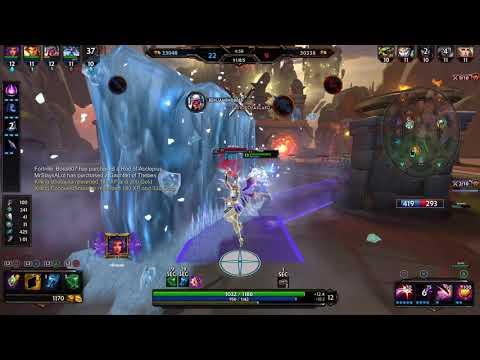 INSANE 42-0 SMITE ARENA GAMEPLAY | w/Discordia | Penta Kills First Game!!??