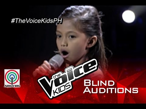 """The Voice Kids Philippines 2015 Blind Audition: """"Stand Up For Love"""" by Aihna"""
