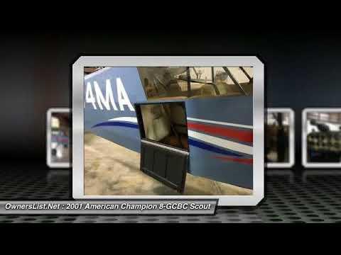 2001 American Champion 8-GCBC Scout GM106