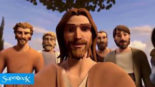 Jesus Heals the Blind Man - Superbook
