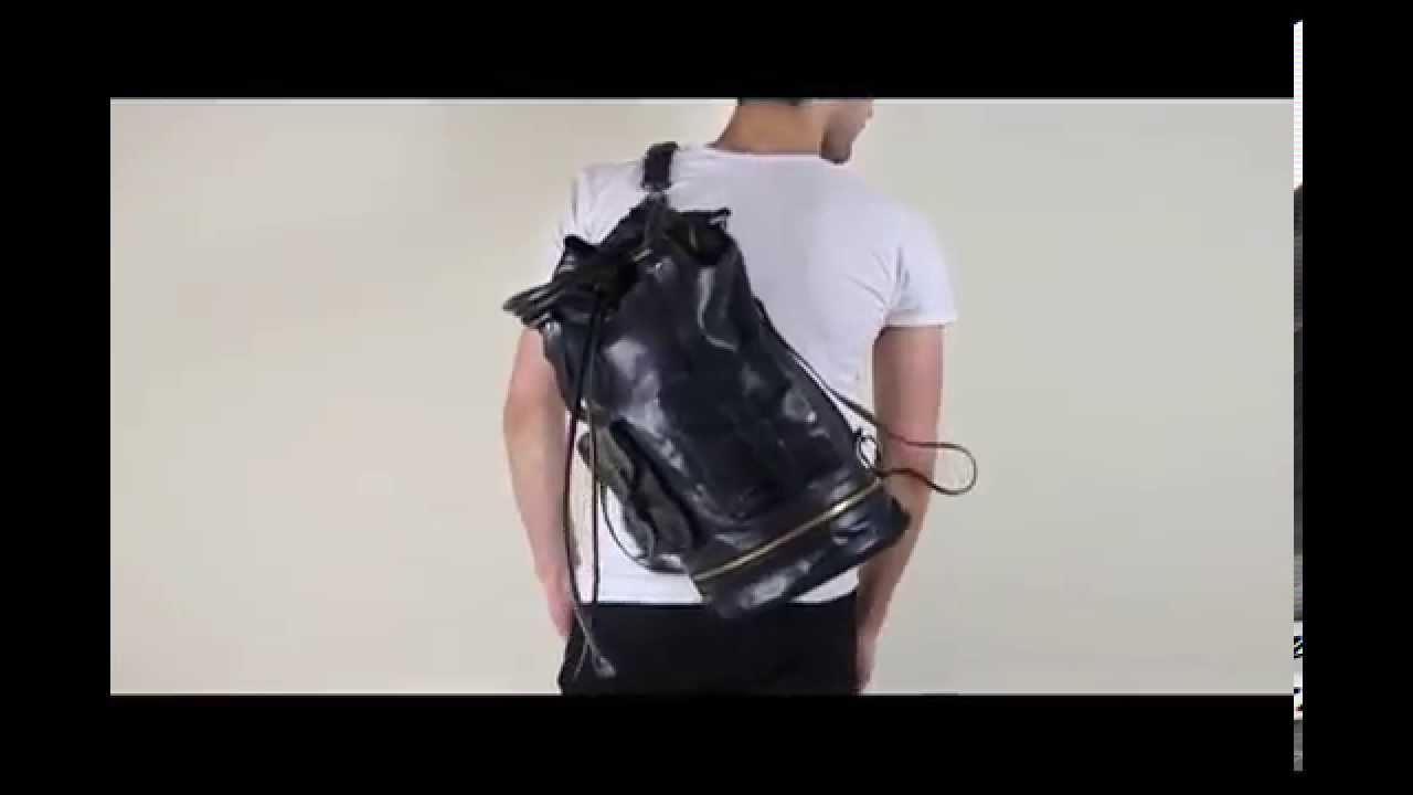 854199101c04 CHRIS TIBOR FOR JUUN.J Duffel Navy Backpack Shoulder Tote Bag - YouTube