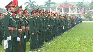 Tin: Lực lượng vũ trang tỉnh Nghệ An ra quân huấn luyện năm 2018