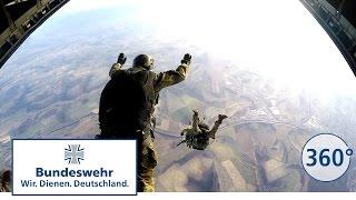 360 Grad - Fallschirmjäger der Bundeswehr, Freifall- und Automatikspringer