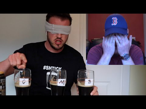 Blind Taste Test: GUINNESS CAN/BEAMISH/MURPHY'S