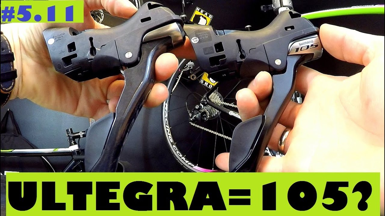 Shimano Ultegra St 6800 Shifters Vs 105 St 5800 Are They