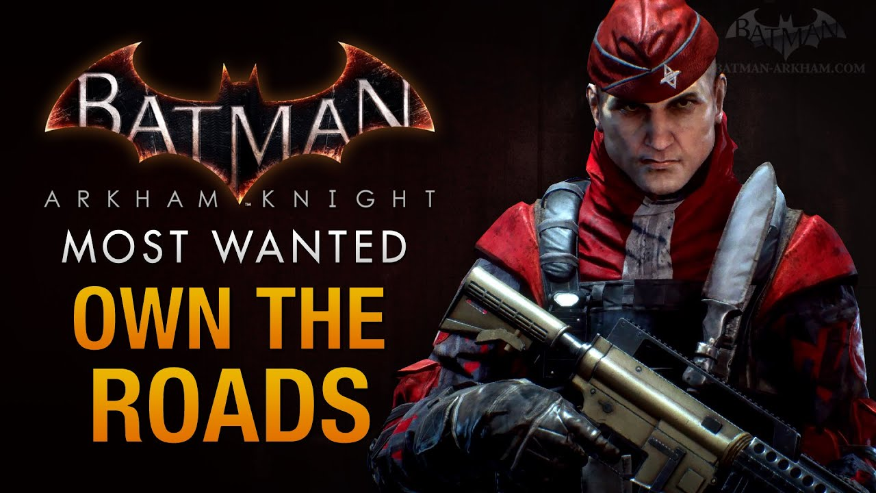 Batman Arkham Knight Own The Roads Militia Checkpoints Youtube