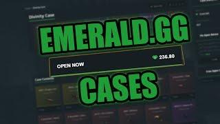 ✩CSGO GAMBLING✩ | EMERALD.GG CASES - 3% CASE WIN?! #03