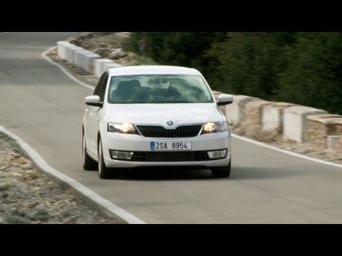 ?koda Rapid 2013 - DRIVING