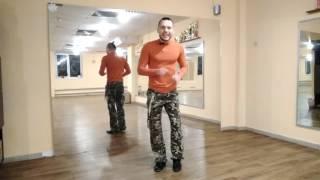 2. ЗУМБА фитнес. Базовые шаги ЗУМБЫ (сальса, шаг назад)