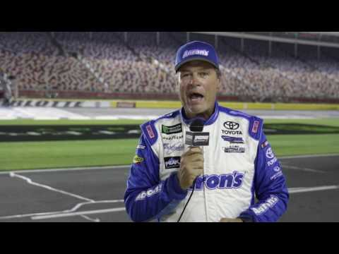Michael Waltrip Tests 2017 Monster Energy All Star Option Tires