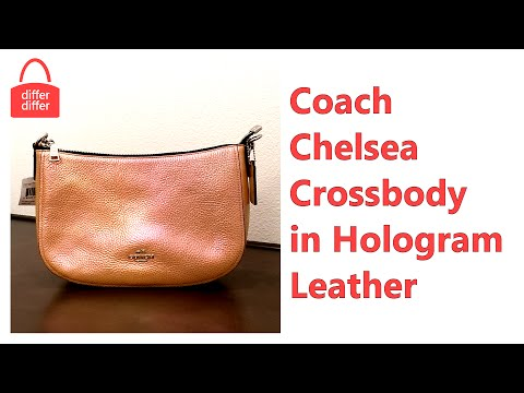 Coach Chelsea Crossbody in Hologram Leather 37158