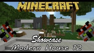 Minecraft Tour | Modern House 12