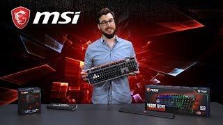MSI VIGOR GK80, a true Mechanical Gaming Keyboard