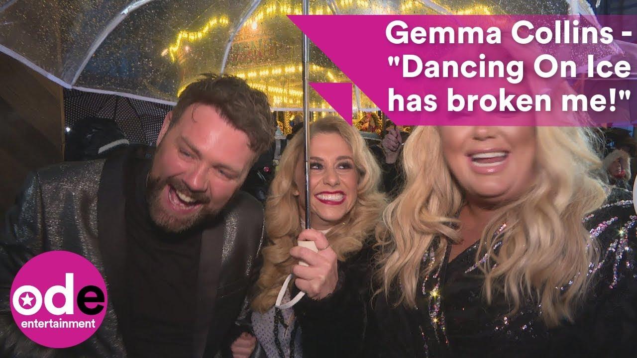 """Download Gemma Collins - """"Dancing On Ice has broken me!"""""""