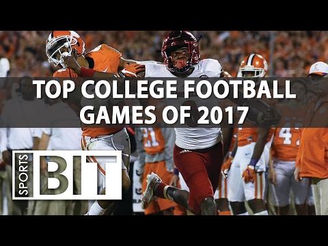 Deep Dive On Biggest 2017 College Football Games | Sports BIT | NCAAF Picks