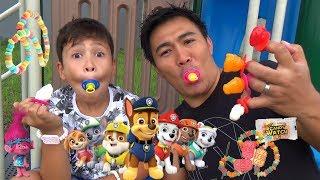 Nyobain Permen Lollipop Unik lagi Ring Pop Squeeze Candy Review
