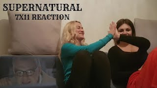 "SUPERNATURAL - 7x11 ""ADVENTURES IN BABYSITTING"" REACTION"