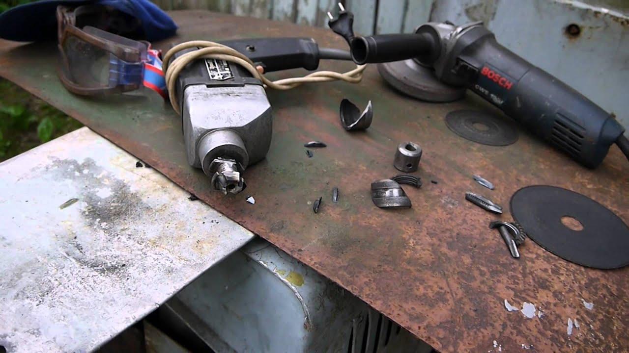 Как снять патрон с конусом с электродрели и сверлильного станка.