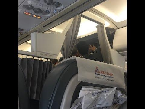 Myanmar Airways International Flight Experience: 8M231 Yangon to Singapore