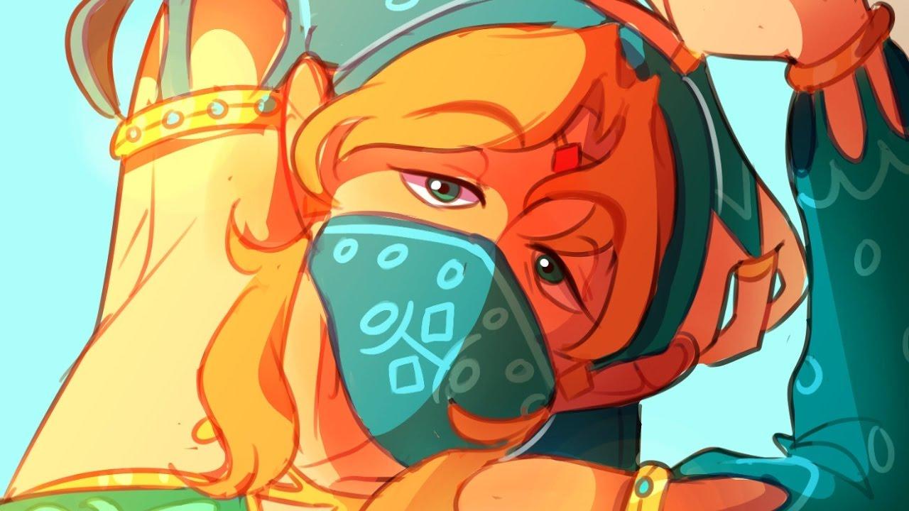 Botw Link Commission Legend Of Zelda Speedpaint