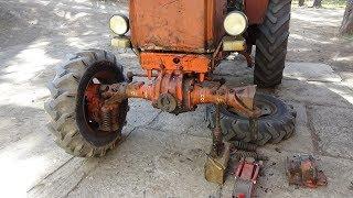 Bir traktor ta'mirlash-40 T EMASMAN h № 5 ,cardan ta'mirlash.