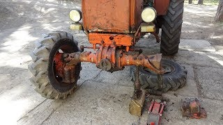 Ремонт трактора Т-40 АМ ч № 5 ,ремонт кардана.