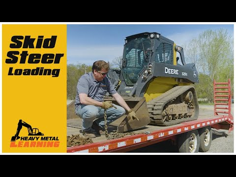 How To Load A Skid Steer   Heavy Equipment Operator Training