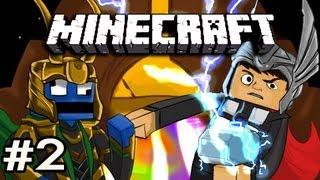 Minecraft: Asgard Adventures w/Nova & Kootra Ep.2 - ITS A PARADISE