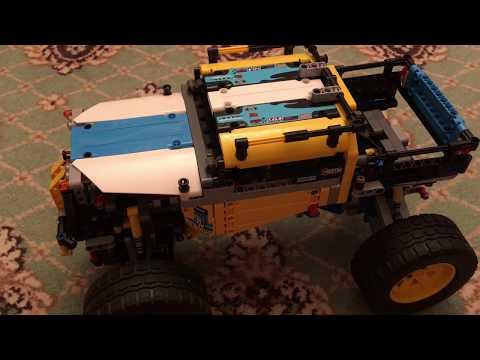 Хроники Лего Техник N45 42099 с Buwizz и старой электрикой
